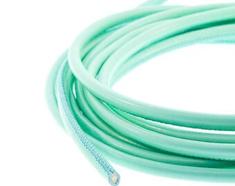 Tubular sewn cord comes 4.0 mm color Aqua
