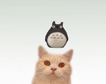 Freak Meowt, Handmade Unique Canadian Catnip Totoro Cool Cat Toys, Gifts for Cats, catnip toy