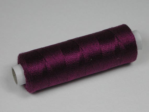 4077 Color Blueberry, Venne cotton, knitting and crochet thread for miniature manual work