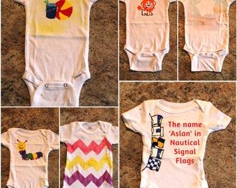Custom FunBodysuits and Toddler Shirts