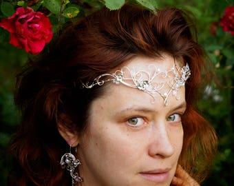 Tiara. Elven tiara, elven circlet,  Elvish tiara, elven crown