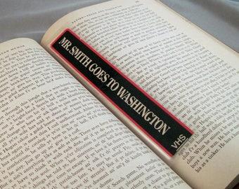 Mr. Smith Goes to Washington Bookmark - Recycled