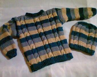 Set of Sweater Hat