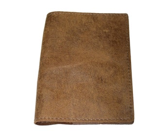 Oak Brown Leather Passport Cover For Men & Women - Accessories