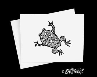 Frog Notecards