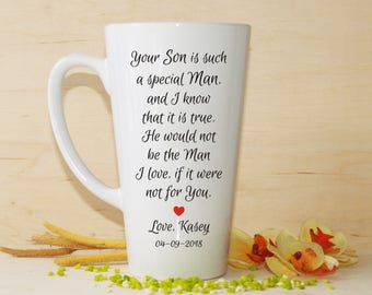Parents of the groom gift, Parents of the groom mug, Mother of the groom gift, Father of the groom gift, Parents in law gift, Wedding mugs