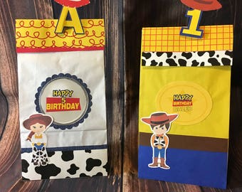 Cowboy and Cowgirl Goodie bags