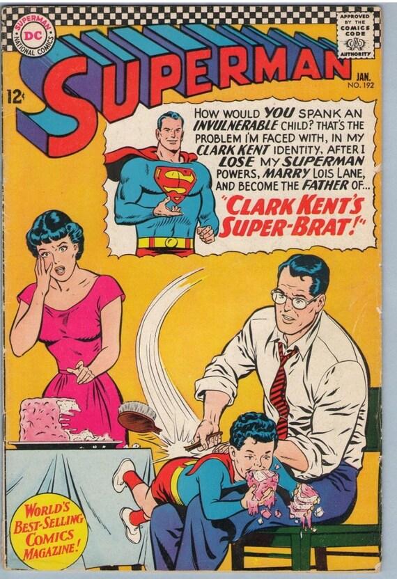 Superman 192 Jan 1967 VG (4.0)
