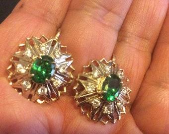 583 rose gold  Earrings