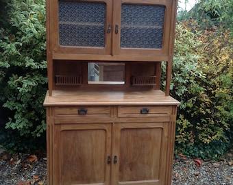French Vintage Buffet Dresser in Teak