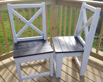 Farmhouse Chair (LOCAL Pickup/DELIVERY ONLY)