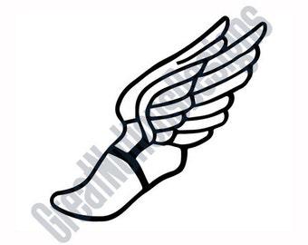 winged foot etsy rh etsy com track winged foot logo yellow winged foot logo