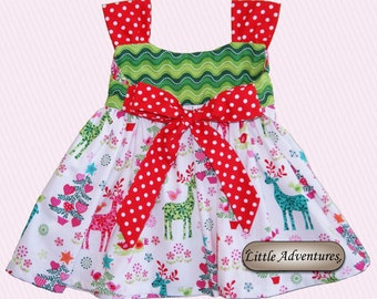 Baby/Toddler/Girls Christmas Dress