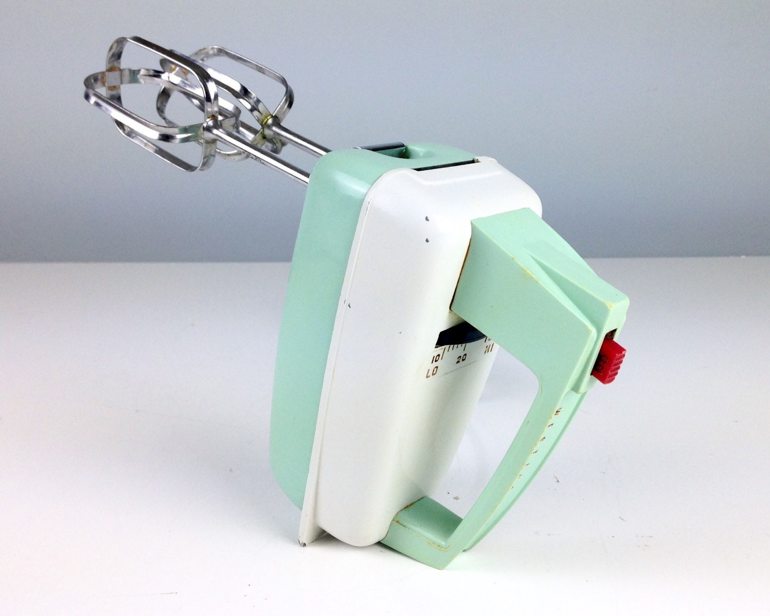 Vintage Mint Green Hand Mixer Westinghouse Electric Mixer # Muebles Westinghouse