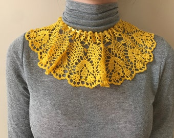 Hand Knitted SCARFLETTE Collar Scarf Neck