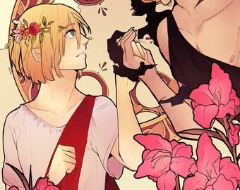 Persephone and Hades, Otayuri