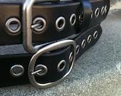 Black Eye Handcrafted Leather Belt
