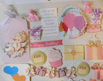 Birthday Arts and Crafts Kit - Project Life Inspiration Kit