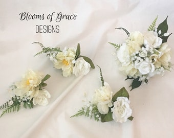 Cake topper, set of 3 or top decoration.