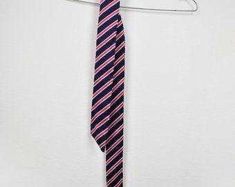Vintage tie, 70s necktie, mens tie, skinny tie, retro tie, vintage clothing, 70s tie, 70s clothing, vintage skinny tie, striped tie
