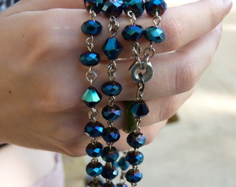 Mirage Blue Rosary