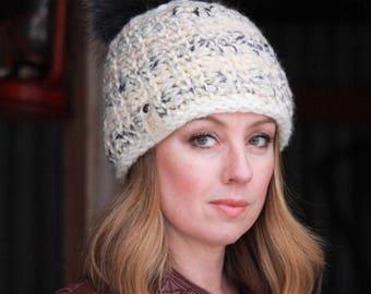 Nº103 Chunky Crochet Beanie - Crochet PATTERN