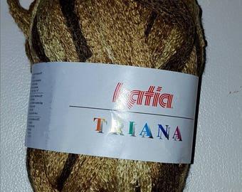 Ball of yarn KATIA TRIANA 100 g Brown/CARAMEL