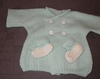 Entire jacket and booties