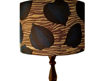 African lampshade etsy aloadofball