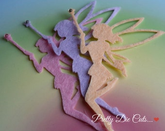 Felt Fairies, Die Cut Craft Embellishments