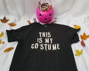 Adult This Is My Costume Tee