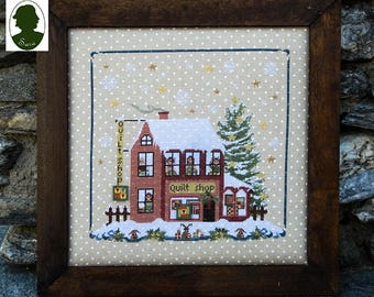 Christmas Avenue: Quilt Shop