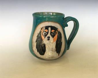Tri-color Cavalier Coffee Mug