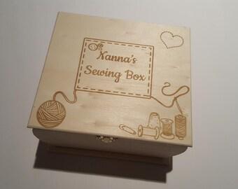 Nannys sewing box