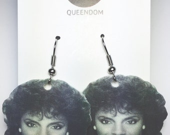 Clair Huxtable Earrings, Clair Huxtable Jewelry, The Cosby Show, Celebrity Jewelry