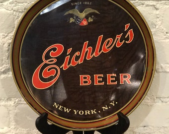 Vintage Eichler's Beer Tray (Since 1862)