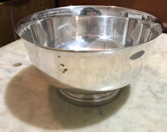 Academy Silver-plate Bowl