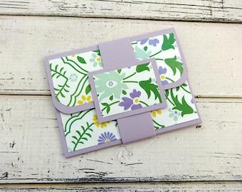 Gift Card Holder, Customizable Gift Card Holder, Gift Card Wallet, Gift Card Envelope, Birthday Gift Card Holder, Floral Gift Card Holder
