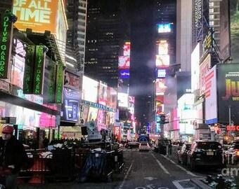 Frozen New York City Moment