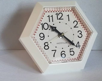 BEAUTIFUL small clock WESTCLOX electric vintage 1970's