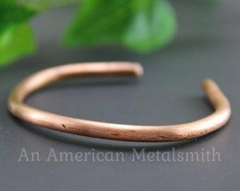 Copper Bracelet, Copper Jewelry, Copper Bangle, Copper Wire Bracelet, Unique Jewelry, Mens Bracelet, Boho Jewelry, Unisex Bracelet