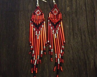 Authentic Native Beaded Earrings