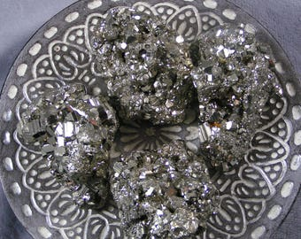 Raw Pyrite Clusters Fools Gold AAA+ from Peru ~ ONE piece ~