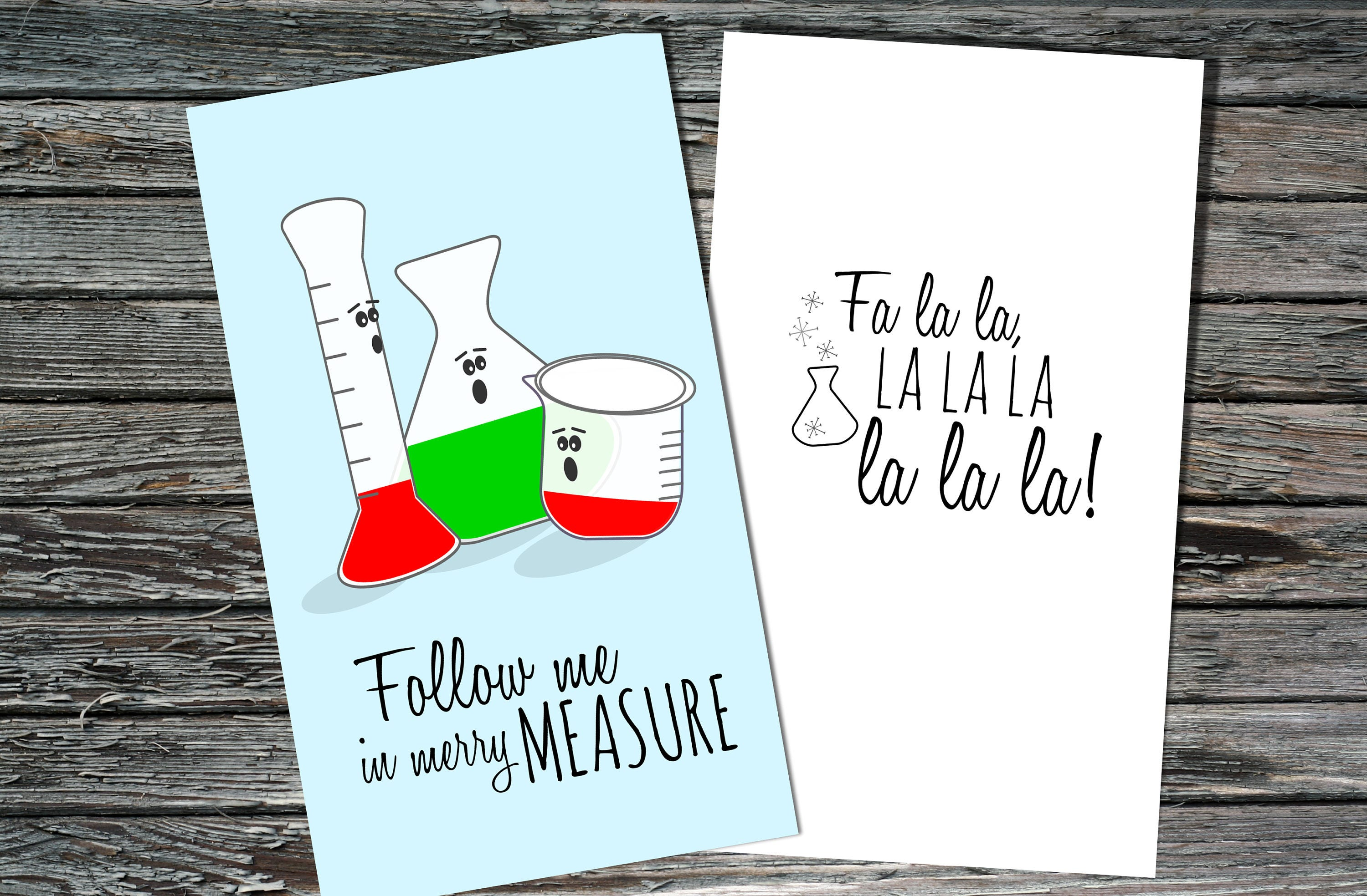 Mini science holiday christmas cards set of 12 merry description little science themed holiday christmas cards kristyandbryce Image collections