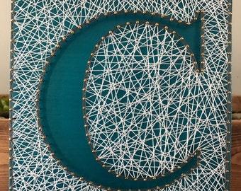 String Art letter, String art Monogram custom Monogram Gallery Wall Art Letter String Art Letter Wall Art nursery letters