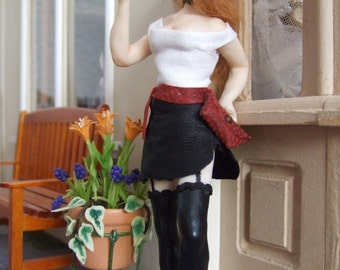 CUSTOM 1/12 SCALE OOAK doll house doll. Please read the description for more details.