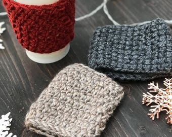 Coffee and tea cozies, cup cozies