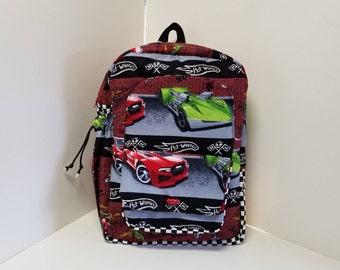 Hot Wheels Preschool Backpack