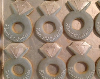 Diamond Ring Cookies