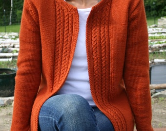Sweater- Knitting Pattern pdf